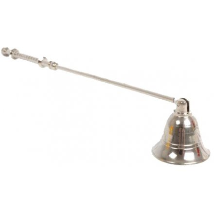 Silver Tone Candle Snuffer