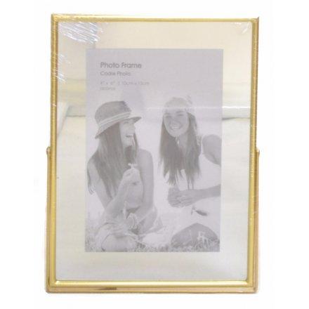 PH2172 / 4x6 Gold Mirrored Photo Frame | 37377 | Photo Frames ...