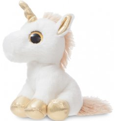 Add a magical touch to your little ones play time with this super soft and snuggly Twinkle Unicorn