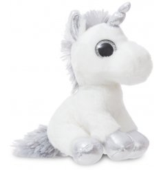 Add a magical touch to your little ones play time with this super soft and snuggly Sparkle Unicorn