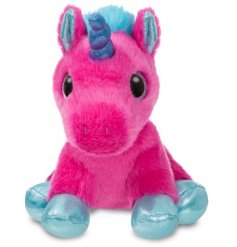 Add a magical touch to your little ones play time with this super soft and snuggly Starlight Unicorn