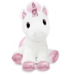 Add a magical touch to your little ones play time with this super soft and snuggly Princess Unicorn