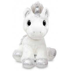 Add a magical touch to your little ones play time with this super soft and snuggly Twilight Unicorn