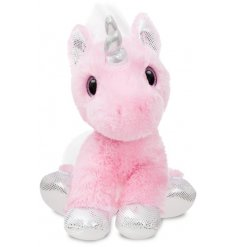 Add a magical touch to your little ones play time with this super soft and snuggly Blossom Unicorn