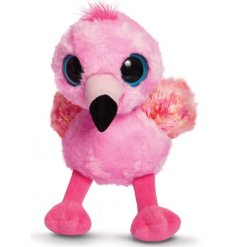 Add a quirky touch to your little ones plush collection with this adorable baby flamingo soft toy