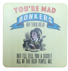 You're Mad Bonkers, Alice In Wonderland Coaster
