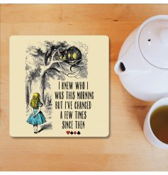 I Knew Who I Was This Morning, Alice In Wonderland Coaster