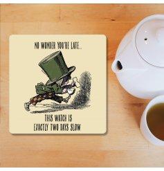 No Wonder You're Late, Alice in Wonderland Coaster