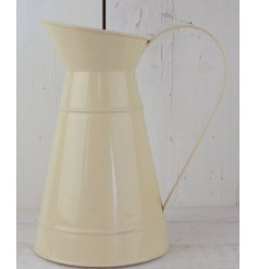 A chic inspired metal cream jug,
