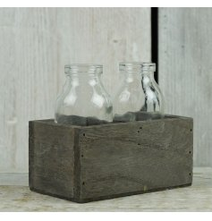 Beautifully finished in a grey washed tone, a perfect display piece