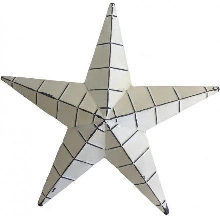 Medium Metal Barn Star, 34cm