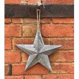 Greywashed Wooden Barn Star, Small