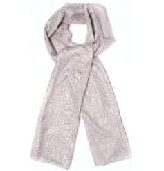 Add a touch of Autumn to your outfit with these rose gold branch effect scarves
