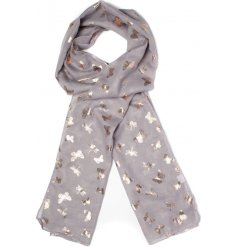 Get ready for Autumn with this chic assortment of buttefly printed scarves