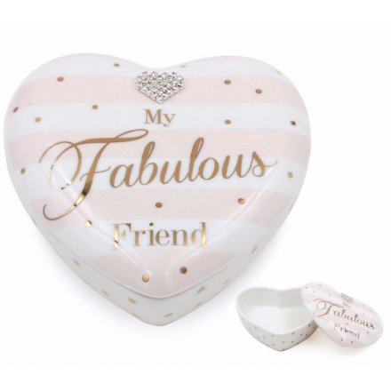 Fabulous Friend Heart Trinket From The Mad Dots Range
