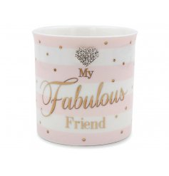 Mad Dots Fabulous Friend Candle  Show your friends you love them with this beautifully finished ceramic candle