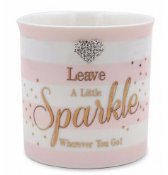 This beautifully pink themed line of Sparkle inspired items will make lovely gift ideas