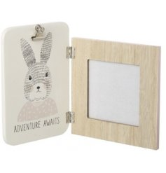 Add an adorable touch to any favorite memory with this simply sweet wooden photo frame