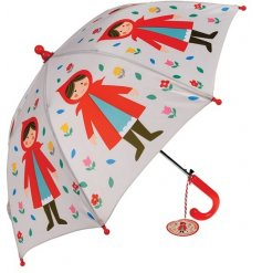 A red riding hood themed children's umbrella