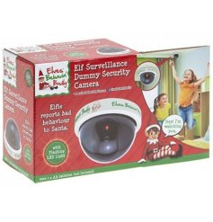 A dummy elf surveillance camera