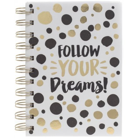 Your Dreams Gold Notebook