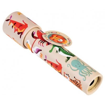 A fun kaleidoscope toy part of the colourful creatures range