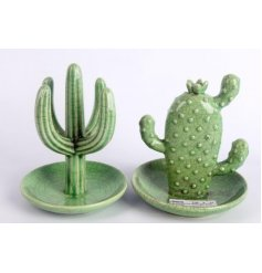 Cactus Jewellery Stand   A chic and on trend assortment of cactus themed jewellery holders