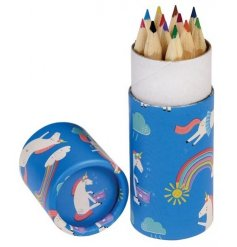 Get creative and colourful with these fun unicorn themed pencil sets from REX international