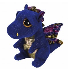Cuddly dragon Beanie Boo soft toy from the TY range