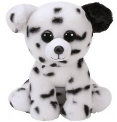 Cuddly dalmatian Beanie Boo soft toy from the TY range