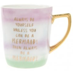 With its amazing quality and beautiful glaze finish, this mug is a must have for any morning coffee!