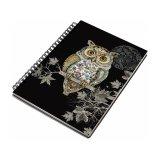 An A5 Owl design notebook