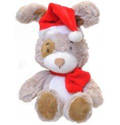 A toggles Xmas bunny toy