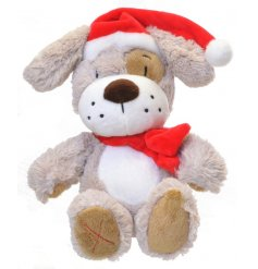 A toggles xmas puppy toy