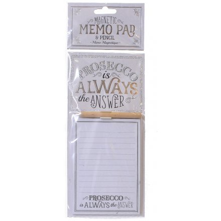 Bring a glittery touch to any home decor with these ombre silver and white glittered memopads