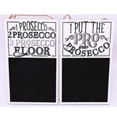 Bring a glitz ombre tone to your home spaces with these assorted themed wooden chalkboards