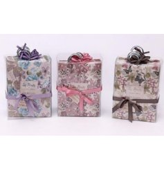 A sweet smelling assortment of fragranced packets, sweetly finished with a floral theme