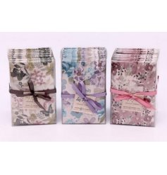 A floral themed assortment of scented packets, add a sweet smell to any wardrobe or draw space with this assortment of p