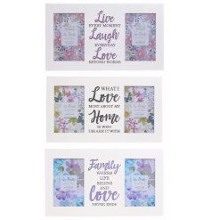 These sentimental Les Fleurs photo frames are a lovely gift for friends and family.