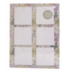 A Les Fleur magnetic notepad set
