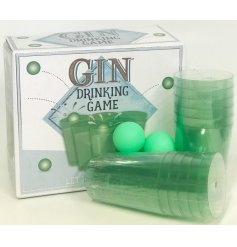 Gin Drinking Game  Have hours of fun at any garden party with this Gin drinking game