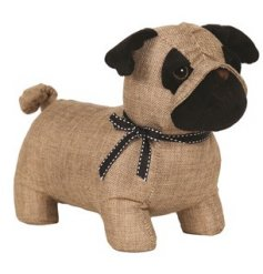 This cute little pug door stop will add a chic touch to any country inspired home