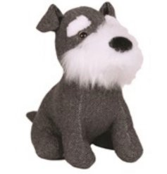 Add a chic trend to your home space with this grey toned sitting dog doorstop