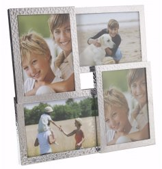 Bring a chic homely touch to any space with this decorative mulit photoframe