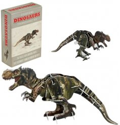 From the fun and creative minds of REX international is this make your own dinosaur kit
