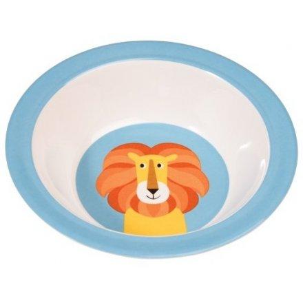 Blue/Orange Lion Bowl