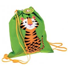 A colourful little drawstring bag from the creative minds of REX international