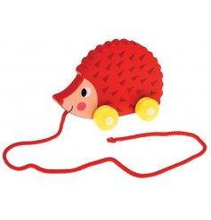 A sweet little retro inspired pull along toy, a perfect item to keep your little ones entertained