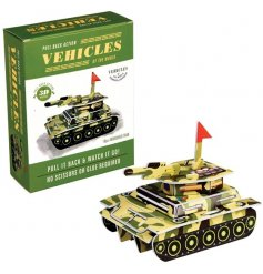 From the fun and creative minds of REX international is this make your own tank kit
