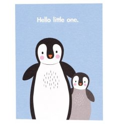 This sweet little card will be a perfect way to congratulate the arrival of a newborn baby